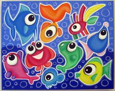 2 cOOL 4 sCHOOL  16x20 original painting by art4barewalls on Etsy, $100.00