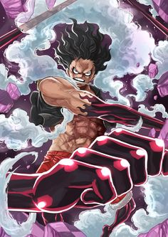 Gear Fourth! One Piece Gear 4, Zoro One Piece, One Piece Comic, One Piece World, One Piece Ace, One Piece Fanart, One Piece Images, One Piece Pictures, Wallpaper Animes