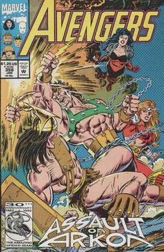 Avengers # 358 by Steve Epting & Tom Palmer