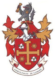 Armoiries de Stevan Bradley Graeme Ralph Family Logo, Family Crest, Medieval Art, Medieval Fantasy, House Sigil, High Middle Ages, Floral Border, Crests, Coat Of Arms