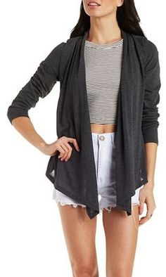 Shawl Collar Cardigan Sweater - Shop for women's Cardigan