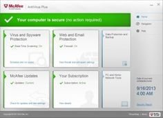 McAfee AntiVirus Plus 2015 Software Free trial version McAfee AntiVirus Plus 2015 Software Free trial version McAfee antivirus Plus 2015 offre complète anti-virus, anti-spyware et anti-malware. Network Tools, Home Network, Back Up, Security Suite, Security Service, Customer Service, Internet, Photoshop Cs5, Active