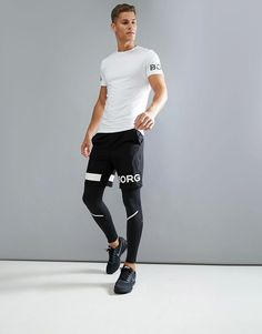 Black Men's Running Tights, Compression Tights, cold weather running, jogging pants, compression leggings, training leggings, gym pants, yoga pants, barre pants, breathable, moisture wicking, athletic wear, gym wear, men's fitness, sports wear, health wear, weight loss wear, activewear, Crossfit, affiliate link