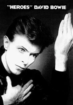 David Bowie Heroes Poster - TshirtNow.net