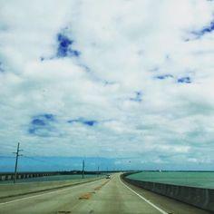 Follow the water way and the clouds will disappear ☁️ 🚗☀️ #weekend #roadtrip #road #clouds #ocean #street #florida #floridakeys #usa #wanderlust #mytravelgram #instatravel #instadaily #instagood #mytravelgram #potd #picoftheday #photooftheday #travel #travels #traveler #traveller #traveling #travelling #travelphotography #travelblogger #travelgram #aroundtheworld #globetrotter #saturday by theeveningcoffee. travelblogger #road #travelling #usa #instagood #street #floridakeys #saturday…