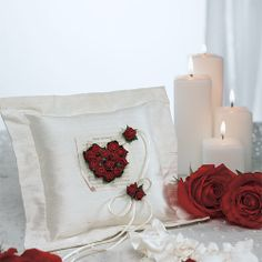 This striking collection features Romantic Parchment Roses with a musical backdrop. In combination with Pure Silk Douppione Shantung Fabric and natural Mulberry Paper this beautiful ensemble is the picture of elegance and romance.The Flower of Love in Romantic Red Wedding Collection includes:Toasting Flute SetCake Serving Set Guest BookPaper Wrapped Pen SetSquare Ring PillowUnity Candle (Taper Set Not Included)Bridal GarterCandle Stand and Taper Set are Not Included!You may add your…