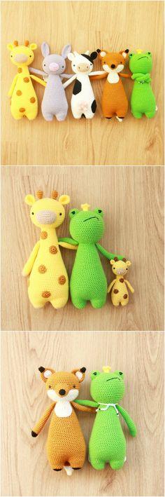 Crochet patterns by Little Bear Crochets on Ravelry: http://www.ravelry.com/stores/little-bear-crochets ❤️ #littlebearcrochets #amigurumi #ravelry