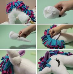 Make it.: Make it: Unicorn Hobbyhorse with free PDF obtainThis month of DIY gifts is so exciting for us because we get to share so many things to make for your family and friends. Felt Crafts, Diy And Crafts, Crafts For Kids, Kids Diy, Decor Crafts, Unicorn Birthday, Unicorn Party, Unicorn Hobby Horse, Sewing Hacks