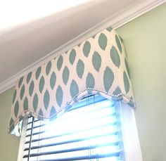 Just go through the window replacement process? Try this DIY window treatment!
