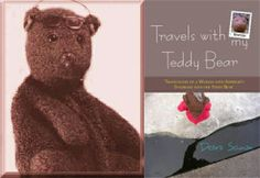 "This is such a sad story. Teddy Bear author's teddy stolen on train in Tanzania. http://www.bearsac.com/aboutme.htm  ""13th April 2013 Sad update I no longer have Bearsac. I have not had him for over a year now. On 3rd December 2011 he was taken from me. He was waving from the window of a train in Tanzania and a man grabbed him. I have not been updating the website much since so people are not going tot the diarys to find this out. So I put it here as this page is viewed more. Debra."""