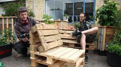 Byg dine egne havemøbler af træpaller | Lev nu | DR. God havestol.