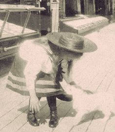 Grand Duchess Anastasia Nikolaevna of Russia aboard the Standart.