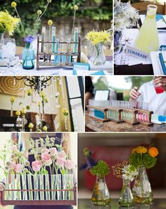 A Chemistry themed wedding? Haha. For some odd reason, this makes me smile.