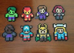 The product Avengers Inspired 8 Bit Magnet Set is sold by eb.perler in our Tictail store.  Tictail lets you create a beautiful online store for free - tictail.com
