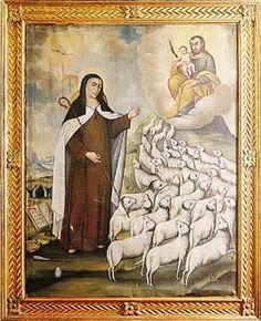 Santa Teresa y San José Saint Teresa Of Avila, Sainte Therese, Saint Quotes, Holy Family, St Joseph, Mystic, Painting, Image, Blog