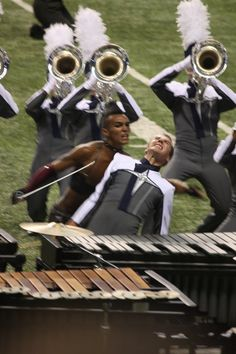Blue Stars Drum and Bugle Corps Color Guard