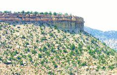 Colorado road view