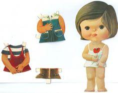 Recortables de muñecas / Paper dolls 1. - Manualidades a Raudales