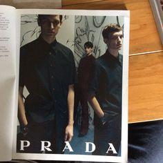 Prada SS '08 men's campaign