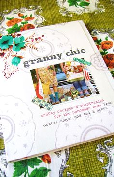Granny Chic...! this lovely book is available in our shop