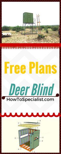 52 Best Deer Blind Plans Images On Pinterest In 2018 Deer Blinds