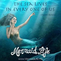 We are all connected to the sea somehow #MermaidLife