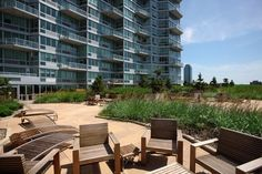 A place to relax in Long Island City - living at 4705 Center Boulevard.