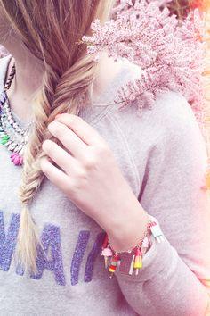 MY LITTLE TRESSE EPI 2 Tuto coiffure : la tresse épi    Blog mode