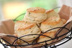 Beth's Sour Cream and Chive Biscuit Recipe