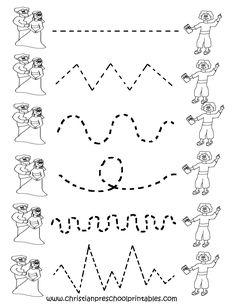 Preschool Tracing Worksheets cakepins.com