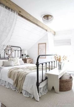 Lovely iron bed