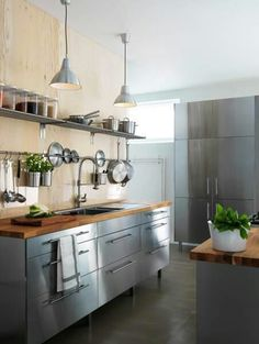 Awesome Stainless Steel Cabinets Ikea