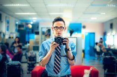 5,000,000 Hits: A Self Portrait and a Coward's Photography by TGKW, via Flickr