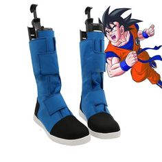 Dragon Ball Android 18 Cosplay Shoes Boots Custom-made High-Q Hero Fight Shoe