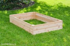 I'm going to show you exactly how to make a garden box in this tutorial. They're surprisingly easy to put together and look neat and tidy in the backyard. Building Planter Boxes, Garden Planter Boxes, Diy Planters, Making Raised Garden Beds, Building A Raised Garden, Raised Beds, Above Ground Garden, Home Vegetable Garden, Diy Garden