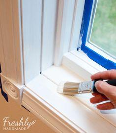 Freshly Handmade: Tutorial: A Beginner\'s Guide to Painting Wood ...