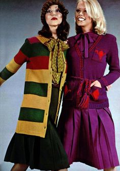 Yves Saint-Laurent as featured in L'Officiel magazine, Vintage Ysl, Vintage Woman, Vintage Beauty, Vintage Ladies, 70s Inspired Fashion, 60s And 70s Fashion, Vintage Inspired, 70s Outfits, Fashion Outfits
