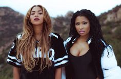 Beyonce and Nicki Minaj are feeling themselves in new video premiere | NYLON