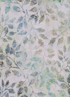 Bleu Turquoise FQ Fat Quarter Tissu Swirl motifs mixte 100/% coton quilting