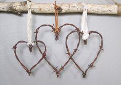Stacheldraht Valentine Herz von oldcrowantiques auf Etsy