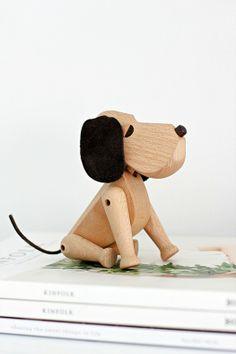 Wooden puppy