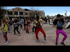 Party Rock Anthem Flash Mob (nerds!)