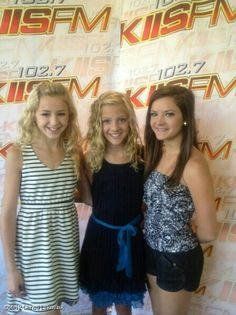 Dance moms Paige, Brook, and Chole are so beautiful