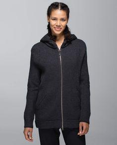Heathered Black Sweat-Er Once A Day Jacket (Merino Wool)