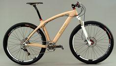who needs floors...how about a hardwood bike?