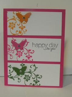 Happy Day to you card (Friday, May 3, 2013) Cindy's Creative Blog