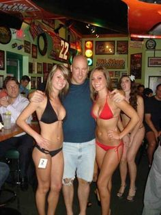 Such grace. Such beauty. (I'm talking about his jorts.)   The 30 Most Important Photobombs Of 2013