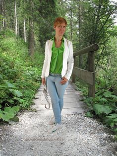 Green Silk in a casual way http://ahemadundahos.de