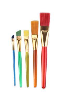 Amazon.com: Bestwoohome Nylon Hair Miniature Art Brushes Children Painting…
