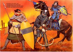 Scandinavian Factions (Denmark, Norway, Sweden) Armored knight and foot soldier